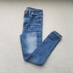 American Eagle Stretch Hi-Rise Jeggings Jeans